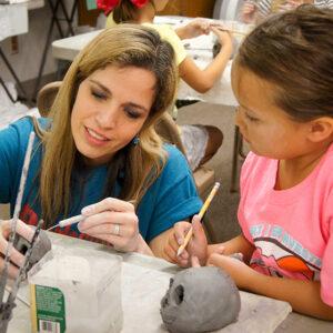 Art Camp 2019 Week 2 CLAY & SCULPTURE June 10 – 14