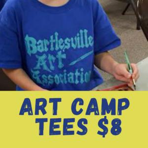 Tee: Art Camp T-Shirt