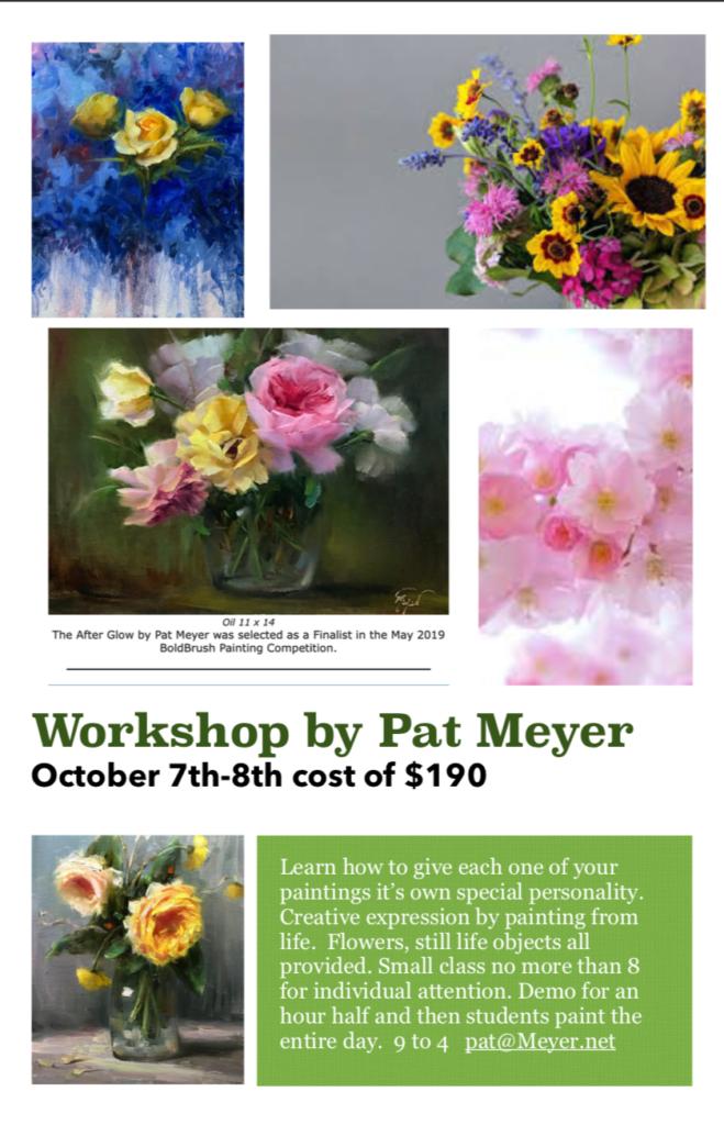 Pat Myer Workshop