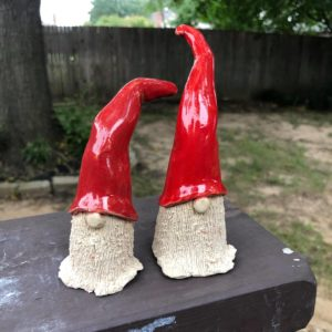 For Kids: Clay Santa Gnomes Class 4:00pm-5:00pm Sun. Dec. 8