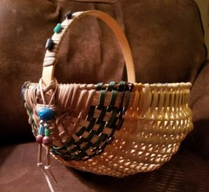 Rib Basket Made with Reed taught by Kathy Barham