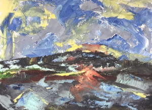 Waxing Poetic: Two-Day Workshop in Cold Wax and Oil Painting with Lori Roll