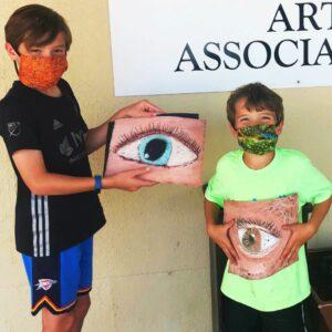 Art Camp Week 3 PAINTING June 21-25 2021