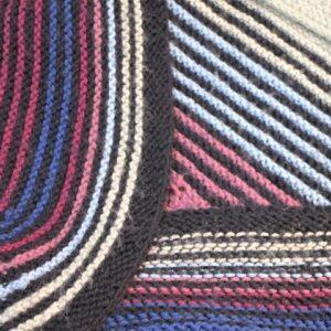 Design and Knit a Garter Ridge Shawl